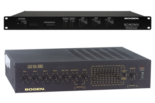 Bogen Sound and Paging System